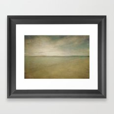 Down by the sea 5 Framed Art Print