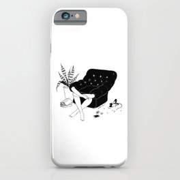 Sunday Mood iPhone Case