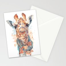 Giraffe with Scarf Stationery Cards