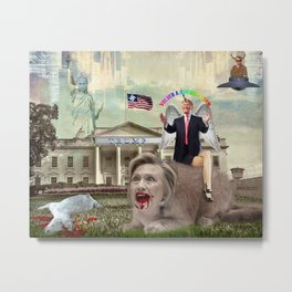 WWWTF Grab America By The Pussy Metal Print