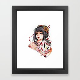 Machi Framed Art Print