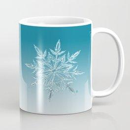 Blue Green Ice Crystal Coffee Mug