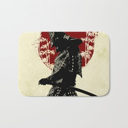 samurai redmoon Bath Mat