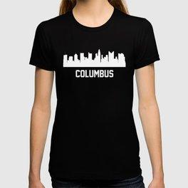 Columbus Ohio Skyline Cityscape T-shirt