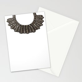 Ruth Bader Ginsburg's Dissent Collar RBG Stationery Cards
