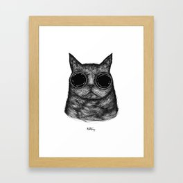 Amici Cool Cat  Framed Art Print