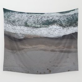 Pacific Beach Waves Wall Tapestry