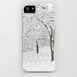 Incandescent and Flourescent Winter iPhone Case