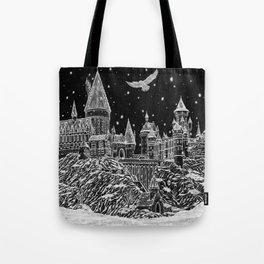Holiday at Hogwart Tote Bag