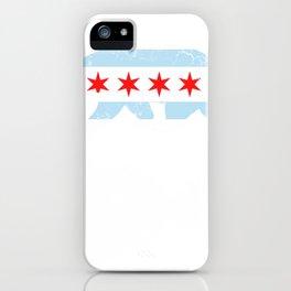 Californa Bear Chicago Flag Transplant HoodieGildan Heavy Blend Adult Hooded Sweatshirt iPhone Case