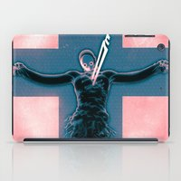 evangelion iPad Cases featuring Lilth from Evangelion by Barrett Biggers
