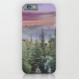 """""""Wildderness III"""". Adventure at the mountains... iPhone Case"""