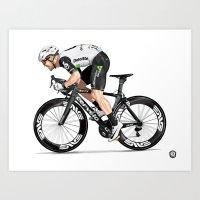 Mark Cavendish | Tour de France 2016 Art Print