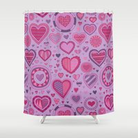 novelty Shower Curtains featuring Novelty by Aron Gelineau