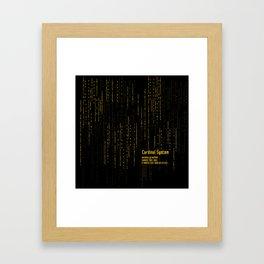 Cadinal System - SAO Framed Art Print