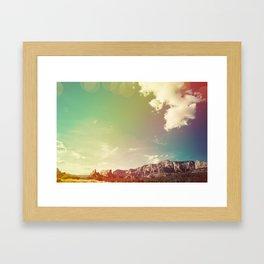 Sedona Landscape Framed Art Print