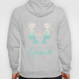 Gemini May 21 - June 20 - Air sign - Zodiac symbols Hoody