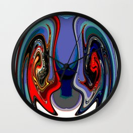 Bloody Minded Wall Clock