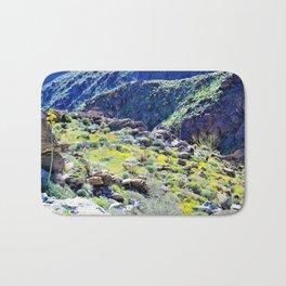 Desert Spring Greens by Reay of Light Bath Mat