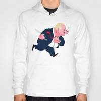 ford Hoodies featuring Rob Ford by Chris Piascik