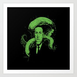 Howard Phillips Lovecraft Art Print