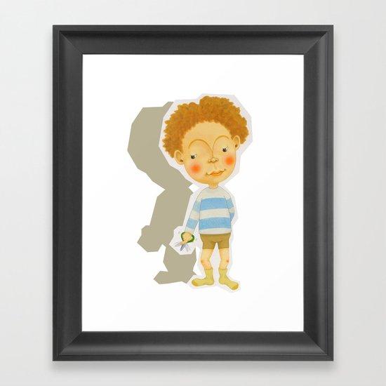 snip snap Framed Art Print