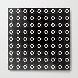 stars 49- Dark and red Metal Print