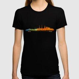 Tokyo City Skyline Hq V2 T-shirt