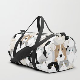 Cats and Dog Duffle Bag