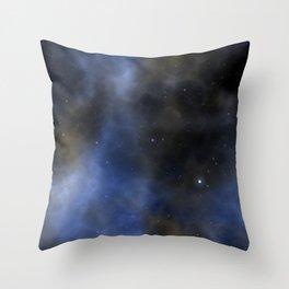 Cosmic Space Galaxy Throw Pillow