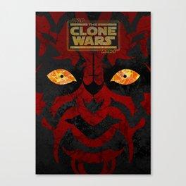 Clone Wars Canvas Print