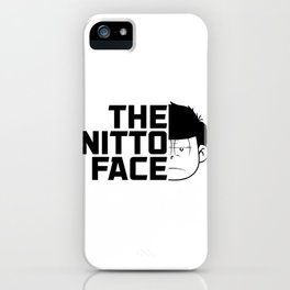 The nitto face iPhone Case