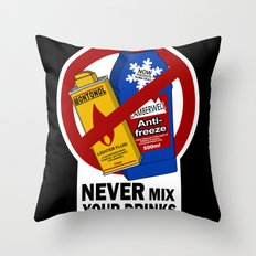 You Bloody Fool! Throw Pillow