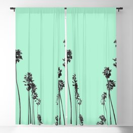Palm Trees 9 Blackout Curtain