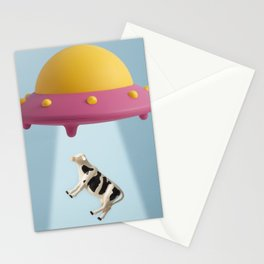 Abducted Cow Stationery Cards