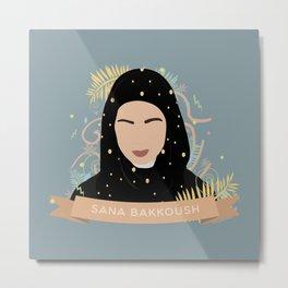 SANA BAKKOUSH Metal Print