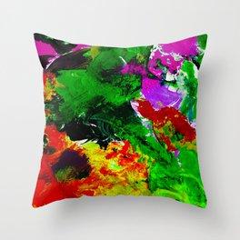 Time Never Stops Throw Pillow
