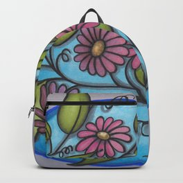 Four Fun Flowers Backpack