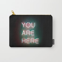 YOUR ARE HERE Neon Sign Carry-All Pouch