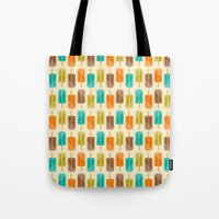 popsicle Tote Bags featuring Popsicle by Liz Urso