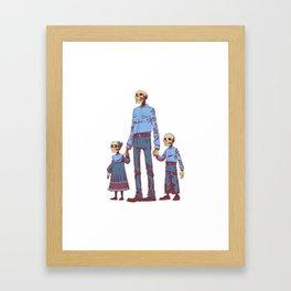 The Future is Bleak Framed Art Print