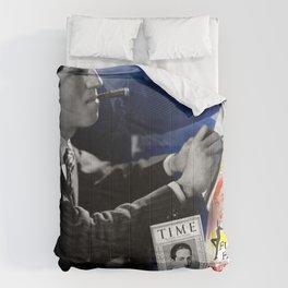 Gershwin Collage Portrait Comforters