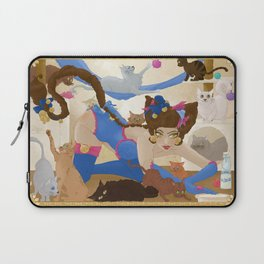 Pin Up et chats Laptop Sleeve