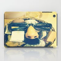 mustache iPad Cases featuring Mustache.  by Francessca.n.Angel