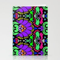 damask Stationery Cards featuring Damask by Urlaub Photography