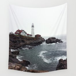 Port Head Lighthouse Wall Tapestry