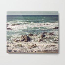 California Coastine Metal Print
