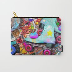 Super Retro Roller Skate Night Carry-All Pouch