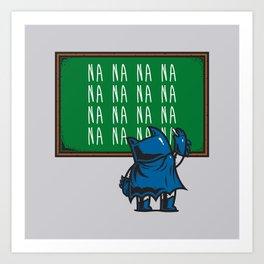 Bat To School Art Print