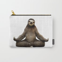 Sloth Yoga Art Print Carry-All Pouch